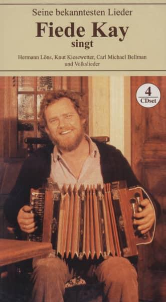 Kay, Fiede Singt seine bekanntesten Lieder (4-CD)