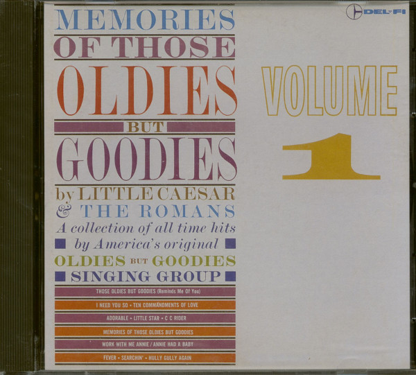 Memories Of Those Oldies But Goodies (CD)