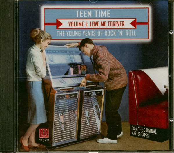 Teen Time Vol.1 - The Young Years Of Rock & Roll (CD)