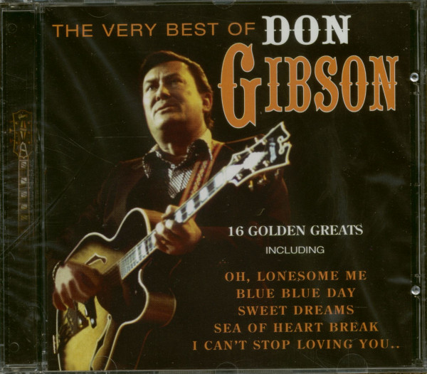The Very Best Of Don Gibson (CD)