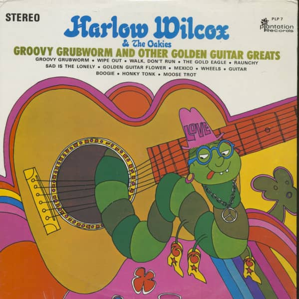 Groovy Grubworm And Other Golden Guitar Greats (LP)