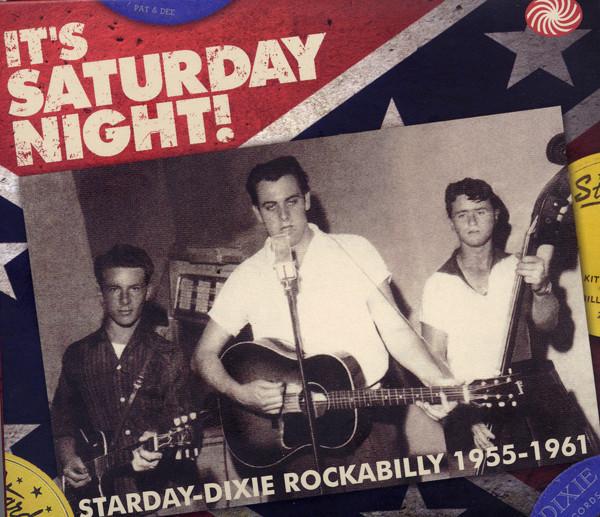 It's Saturday Night-Starday Dixie RAB (3-CD)