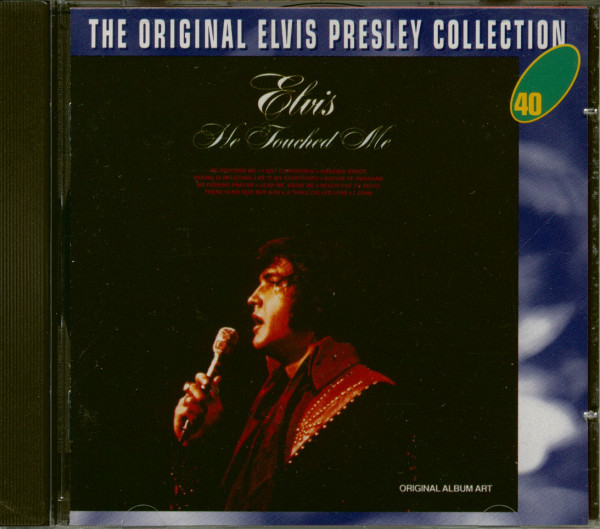 He Touched Me - The Original Collection #40 (CD)