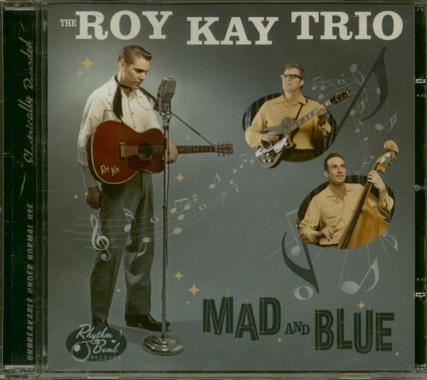 Mad And Blue (CD)