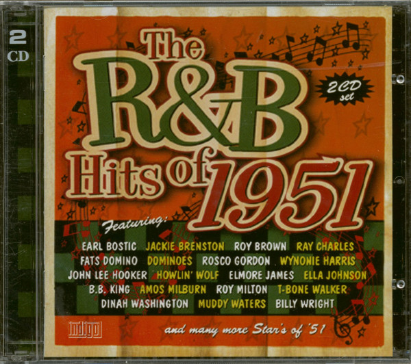 The R&B Hits Of 1951 (2-CD)