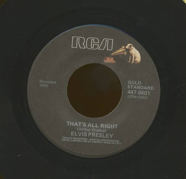 That's All Right - Blue Moon Of Kentucky (7inch, 45rpm)