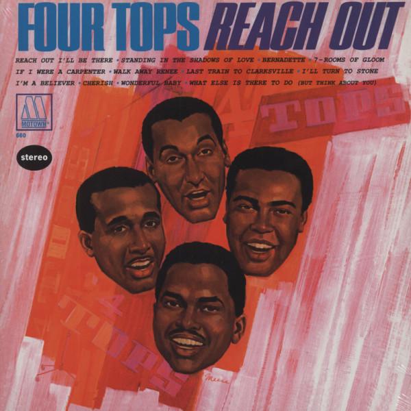Four Tops Reach Out (1967) re 180g Vinyl