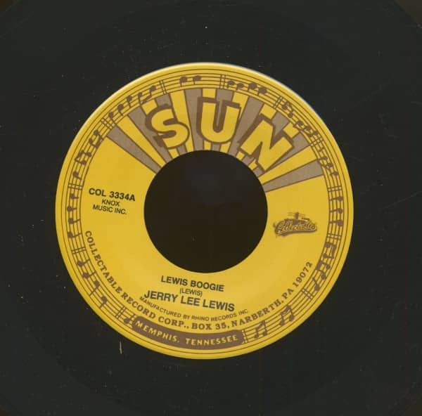 Lewis Boogie - Return Of Jerry Lee (7inch, 45rpm)