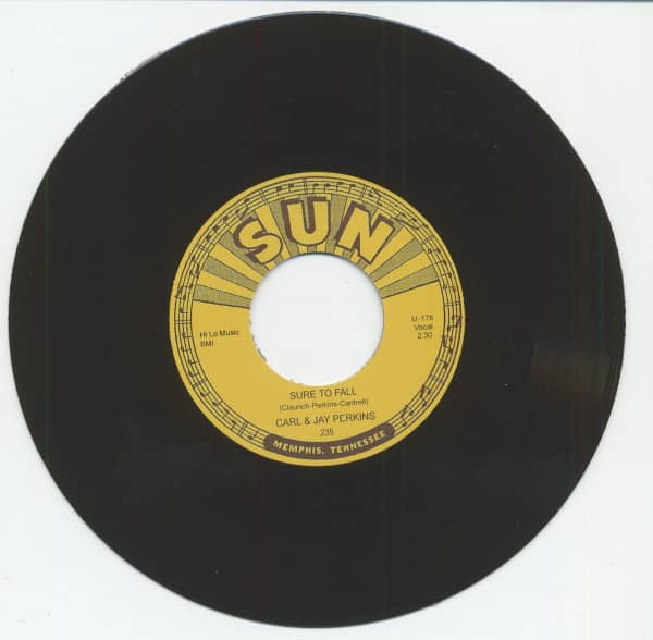 Sure To Fall b-w Tennessee (7inch, 45rpm)