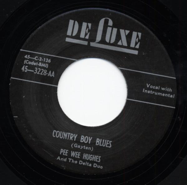 Country Boy Blues b-w Hello Miss Jessie Lee 7inch, 45rpm