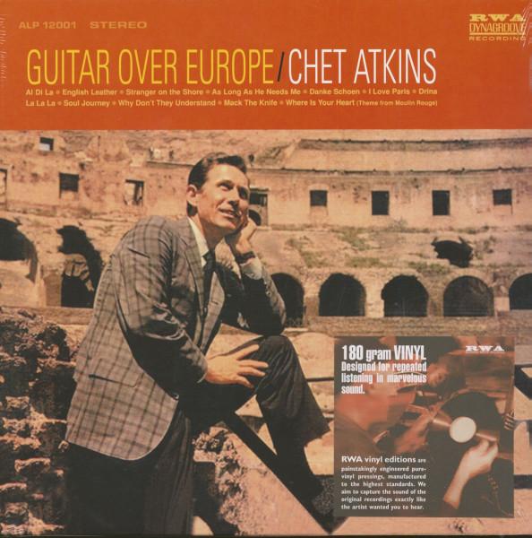 Guitar Over Europe (LP, 180g Vinyl)