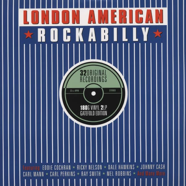 Va London American Rockabilly (2-LP 180g)