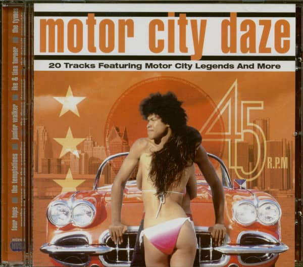 Motor City Daze - Motor City Legends And More (CD)