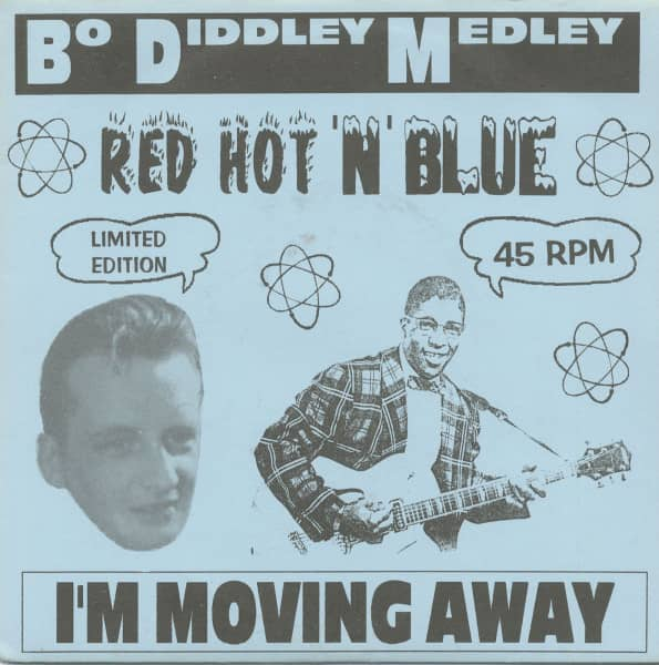 Bo Diddley Medley b-w I'm Moving Away 7inch, 45rpm, PS, SC