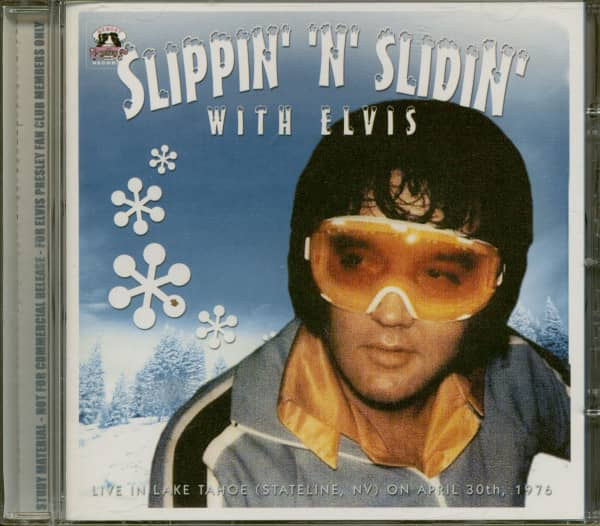 Slippin' 'n' Slidin' With Elvis (CD)