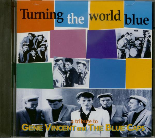 Turning The World Blue - Gene Vincent Tribute (CD)