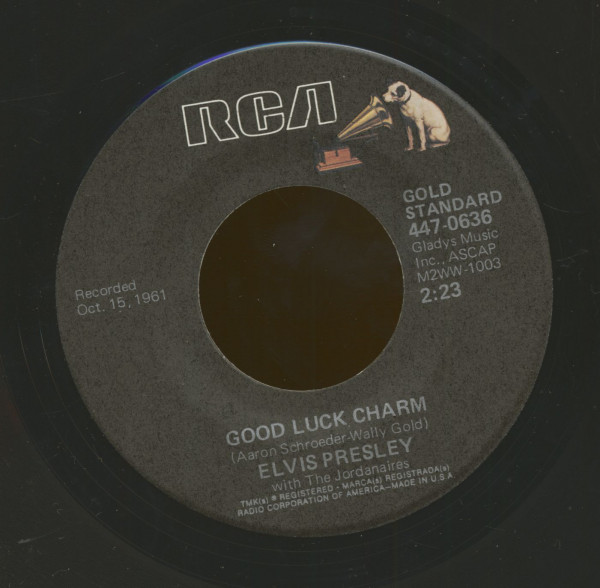 Good Luck Charm - Anything That's Part Of You (7inch, 45rpm)