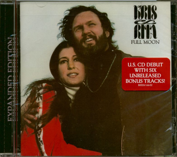 Kris Kristofferson & Rita Coolidge - Full Moon (CD, Expanded)