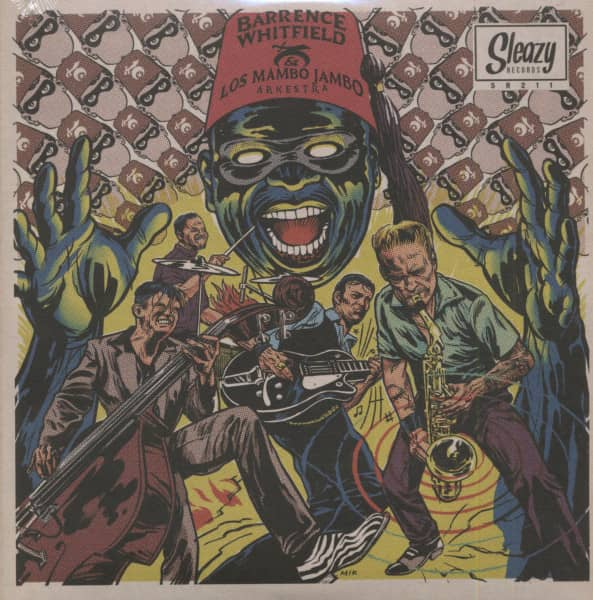 Barrence Whitfield & Los Mambo Jambo Arkestra (7inch, 45rpm, EP, SC)