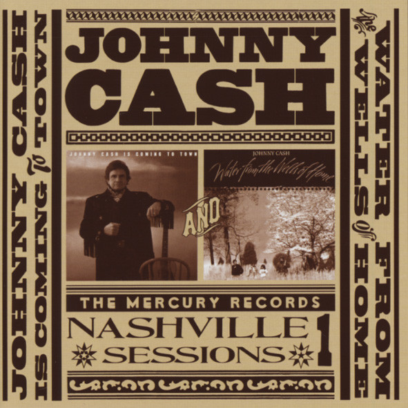 Cash, Johnny Mercury Records Nashville Sessions Vol.1