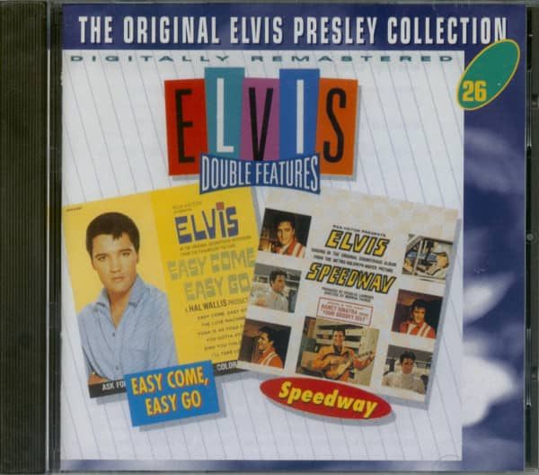 Double Features: Easy Come, Easy Go & Speedway - The Original Collection #26 (CD)