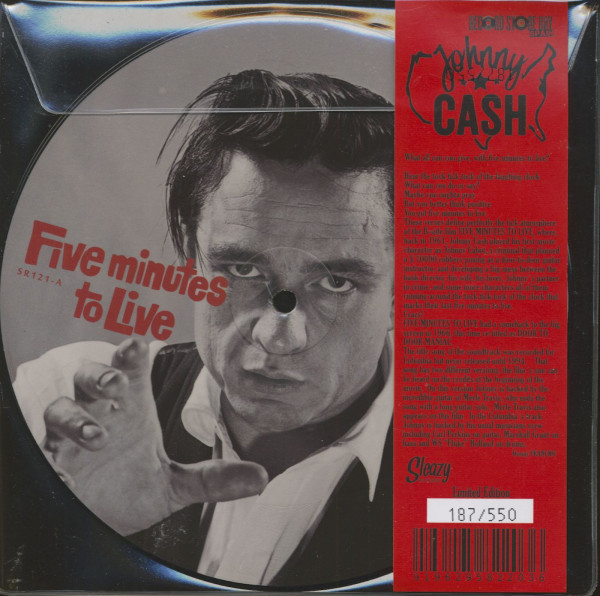 Five Minutes To Live - Record Store Day (7inch, 45rpm, EP, SC, Picture Disc)