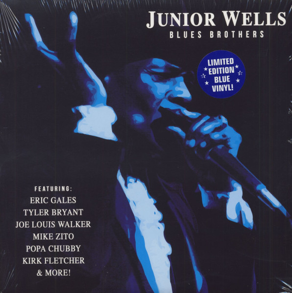 Blues Brothers (LP, Blue Vinyl, Ltd.)
