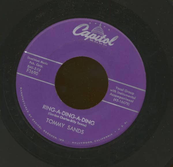 Ring-A-Ding-A-Ding - My Love Song (7inch, 45rpm)