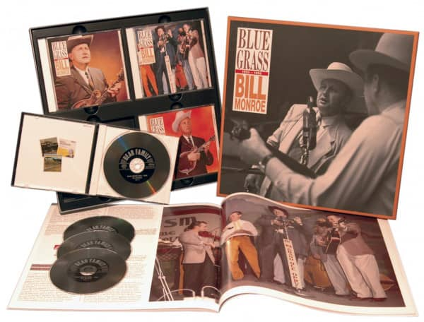 Blue Grass 1950-1958 (4-CD Deluxe Box Set)