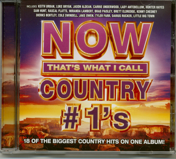 Now Country #1s (CD)