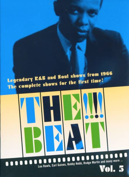 Legendary R&B and Soul Shows from 1966 Vol.5 (DVD)