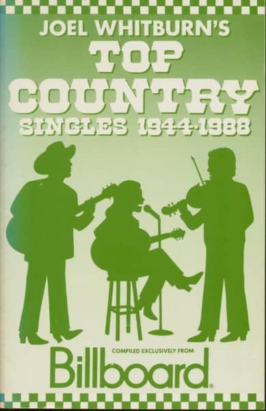 Top Country Singles - 1944-1988 by Joel Whitburn (PB)