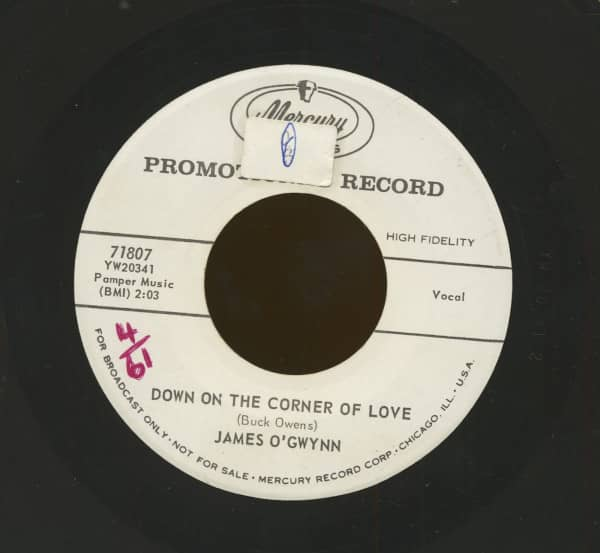 Down On The Corner Of Love - I'm Getting Nowhere Fast (7inch, 45rpm)