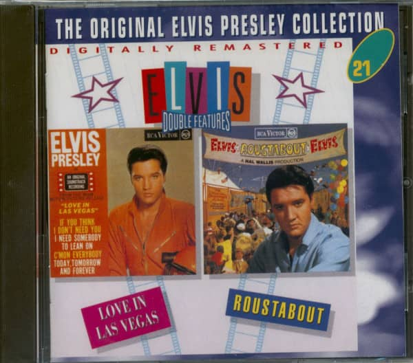 Double Features: Love In Las Vegas & Roustabout - The Original Collection #21 (CD)