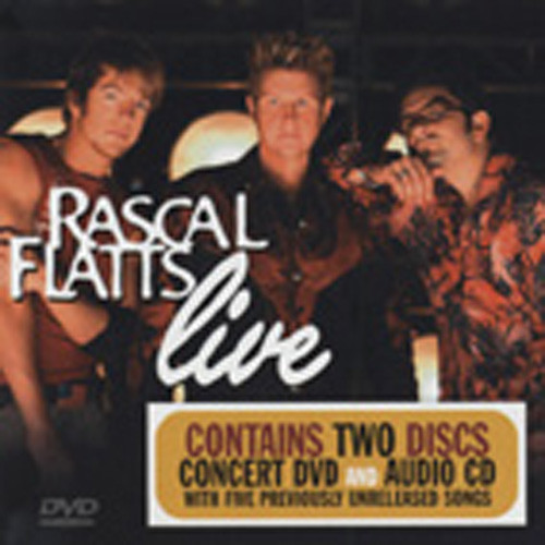 Rascal Flatts Live DVD(0)&CD Set