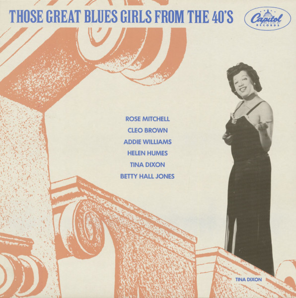 Those Great Blues Girls From The 40s (LP)