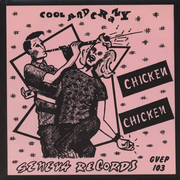 Chicken Chicken 7inch, 45rpm, EP, PS, SC