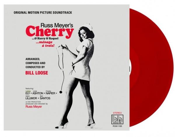 Russ Meyer's Cherry, Harry & Raquel - Soundtrack (LP, 45rpm, Colored Vinyl, Ltd.)