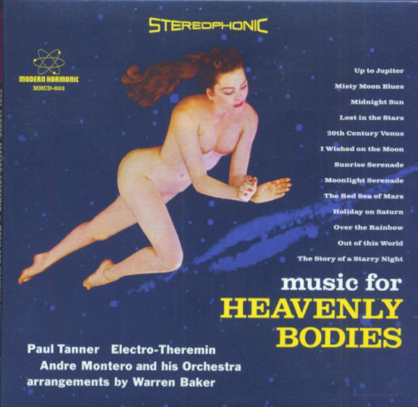 Music For Heavenly Bodies (CD)