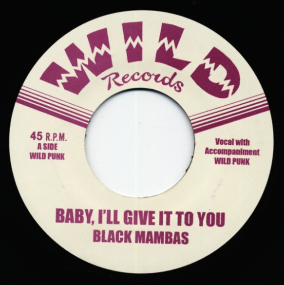 Baby, I'll Give It To You - Mornin' Blues 7inch, 45rpm
