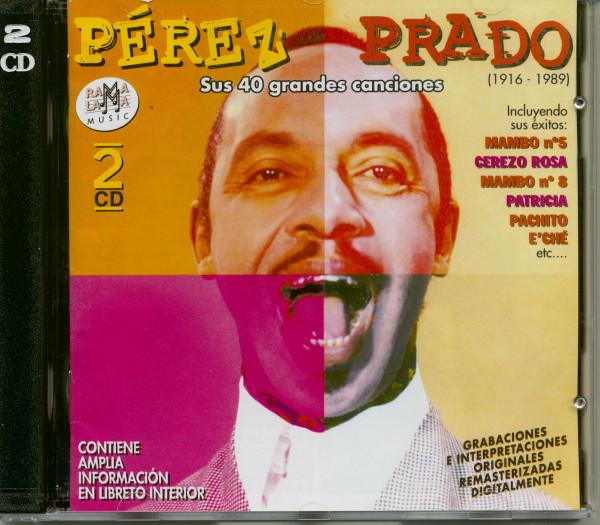Sus 40 grandes canciones (2-CD)