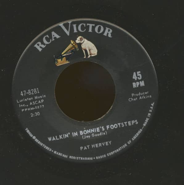 Walkin' In Bonnie's Footsteps - It's Love That Counts (7inch, 45rpm)