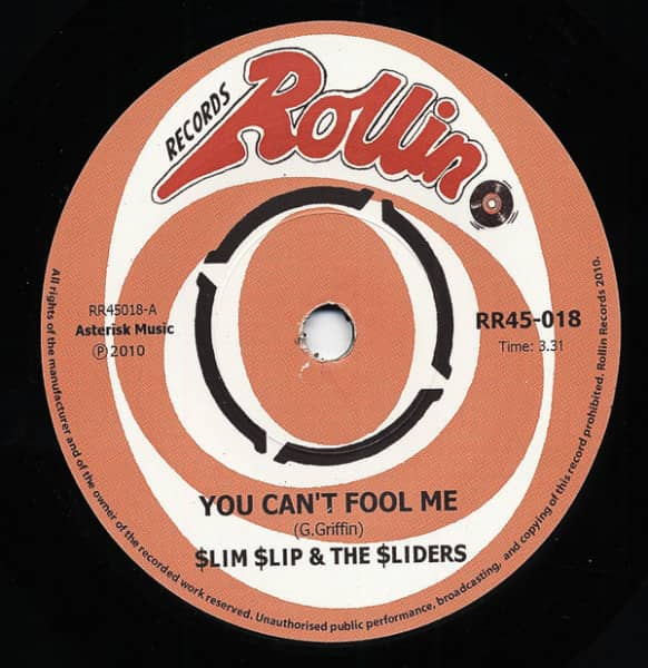 You Can't Fool Me - Keep Me Satisfied 7inch, 45rpm, SC