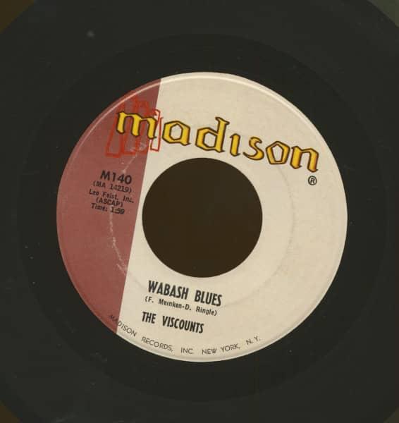 Wabash Blues b-w So Slow (7inch, 45rpm)