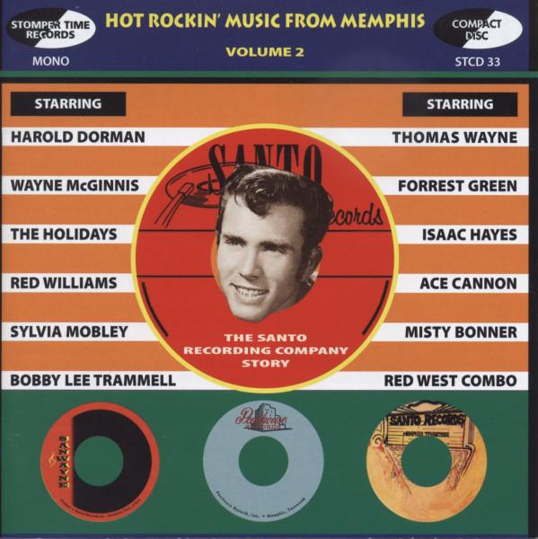 Hot Rockin' Music From Memphis, Vol.2