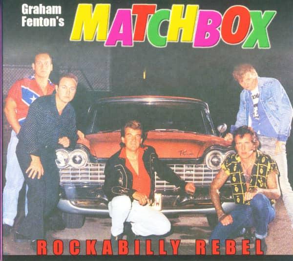 Rockabilly Rebel - Unissued 1980s Mini Album (CD Digipak)