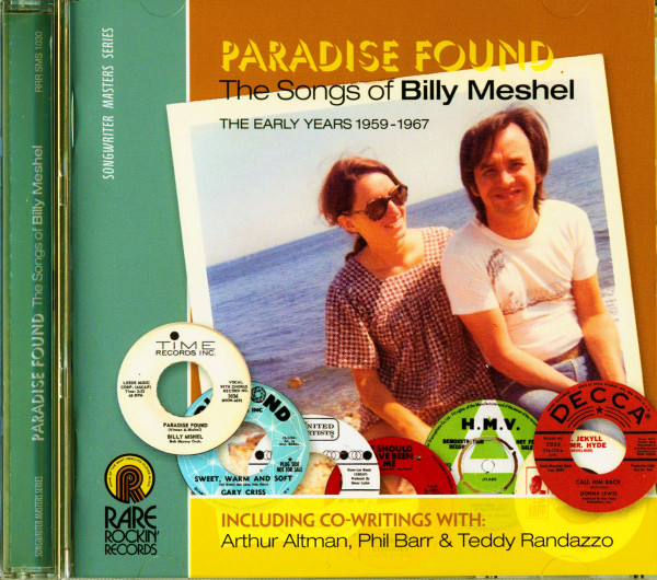 Paradise Found - The Songs Of Billy Meshel (CD)