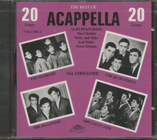 Vol.3, Best Of Acappella