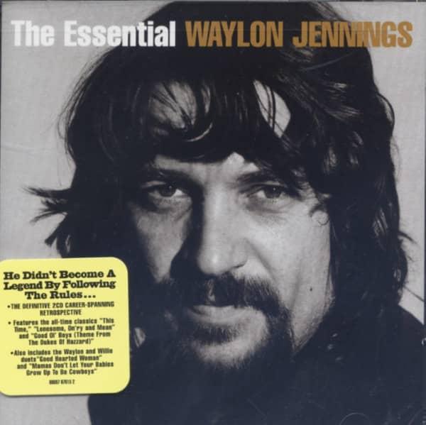 Jennings, Waylon The Essential (US) 2-CD