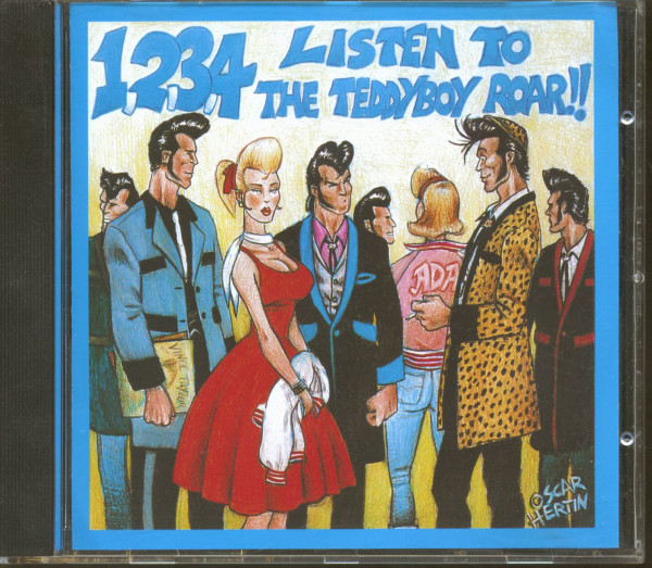 1-2-3-4 Listen To The Teddyboy Roar (CD)